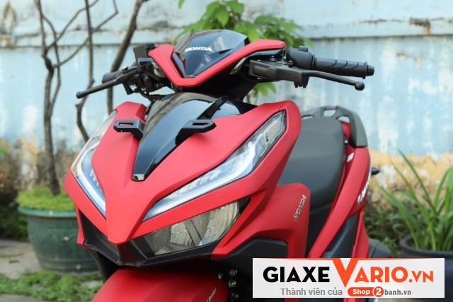 Honda vario 150 đỏ nhám 2021 - 4