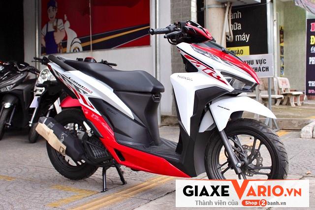 Honda vario 150 trắng tem đỏ 2020 - 2