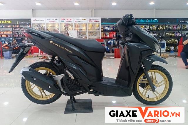 Honda vario 150 đen mâm đồng 2021 - 1