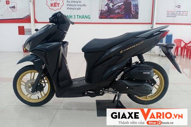 Honda vario 150 đen mâm đồng 2021 - 2