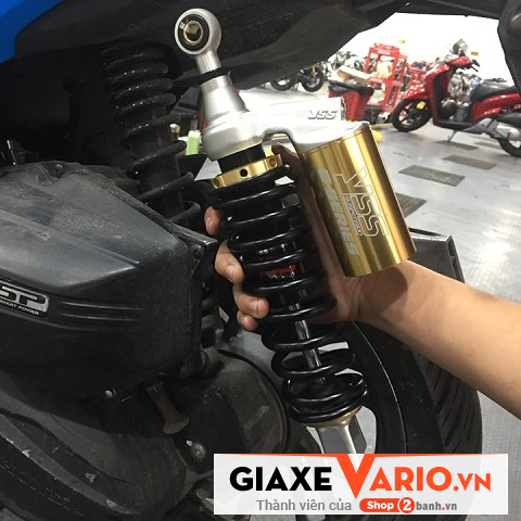Phuộc YSS bình dầu vàng cho xe Vario